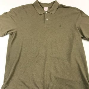 Brooks Brothers Polo Olive Green Cotton